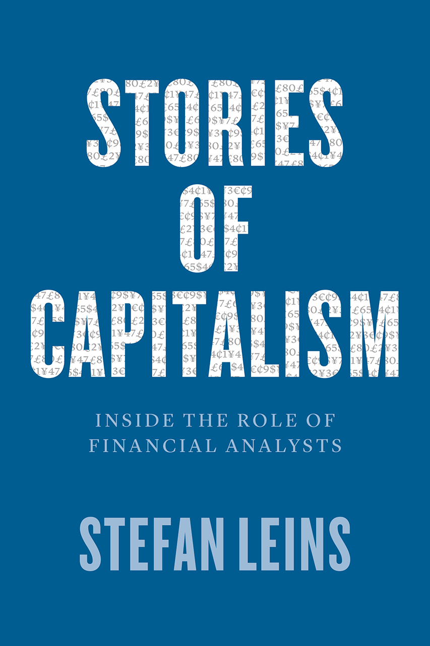 Cover Leins Stories of Capitalism