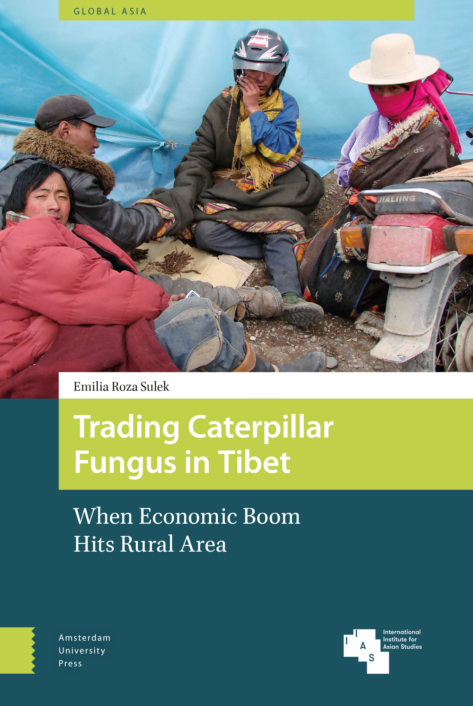 Cover Sulek Trading Caterpillar Fungus in Tibet